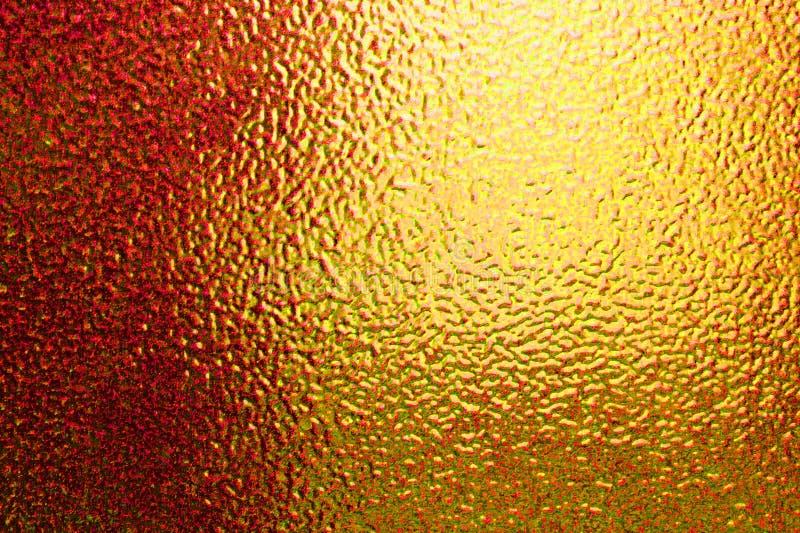 O teste padrão amarelo vazio do papel da aquarela recicla áspero fotos de stock