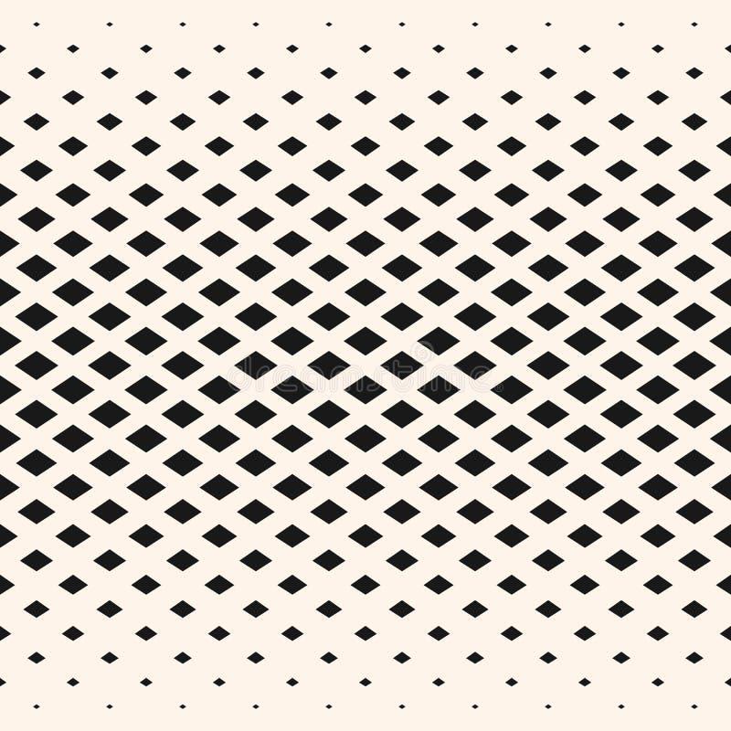 O teste padrão geométrico de intervalo mínimo, diamante dá forma, cristais, rombos ilustração do vetor