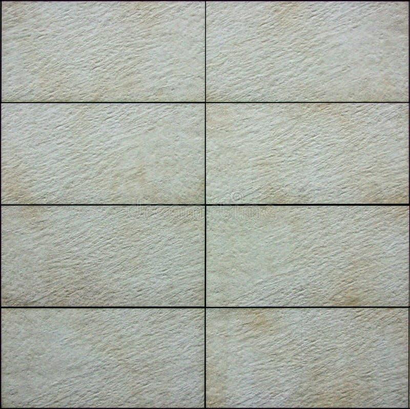 O tijolo cerâmico telha a textura sem emenda do teste padrão imagem de stock royalty free