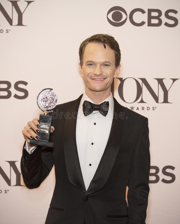 68.o Tony Awards anual fotos de archivo libres de regalías