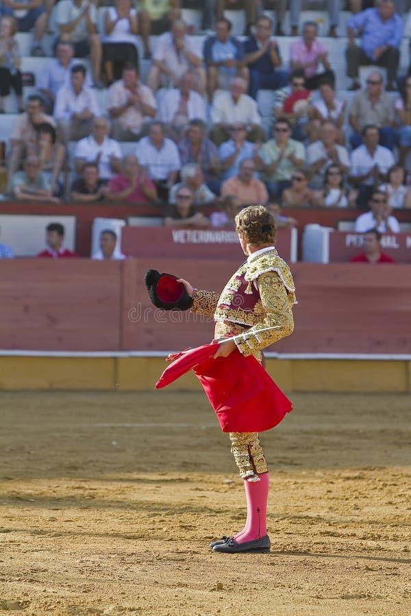 O toureiro espanhol imagem de stock