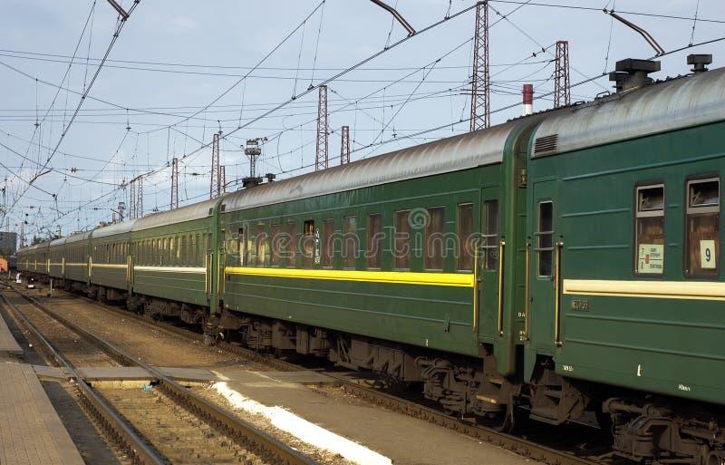 O trem fotos de stock
