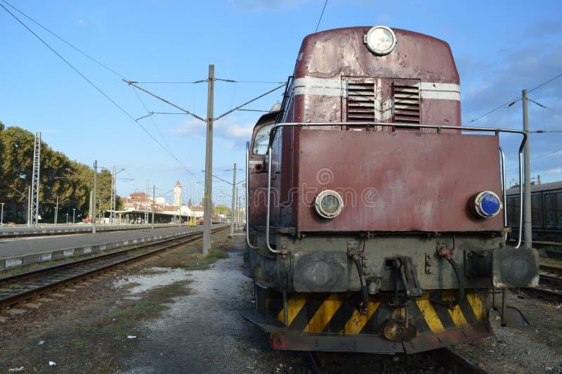 O trem foto de stock