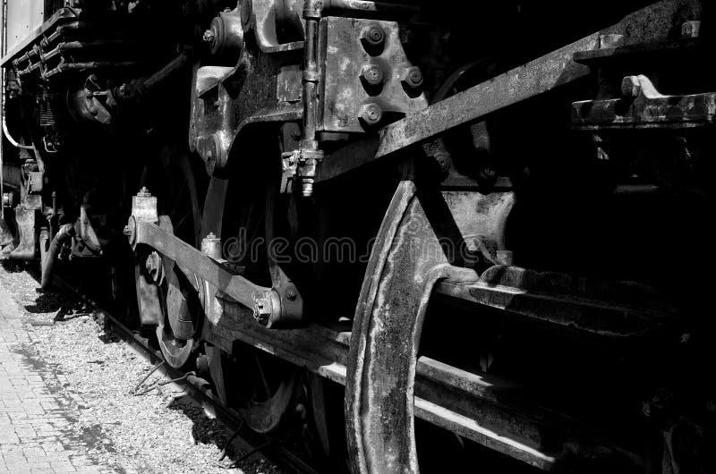 O trem velho fotos de stock