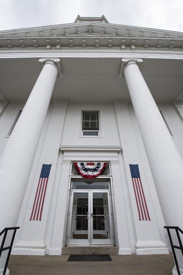 O tribunal de Lexington Missouri imagens de stock