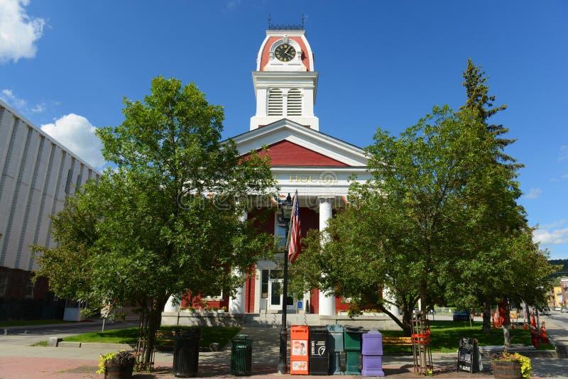 O tribunal de Washington County, Montpelier, VT, EUA foto de stock