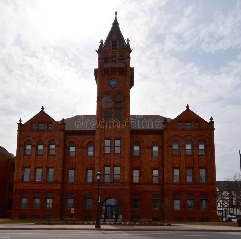 O tribunal do condado fotos de stock royalty free