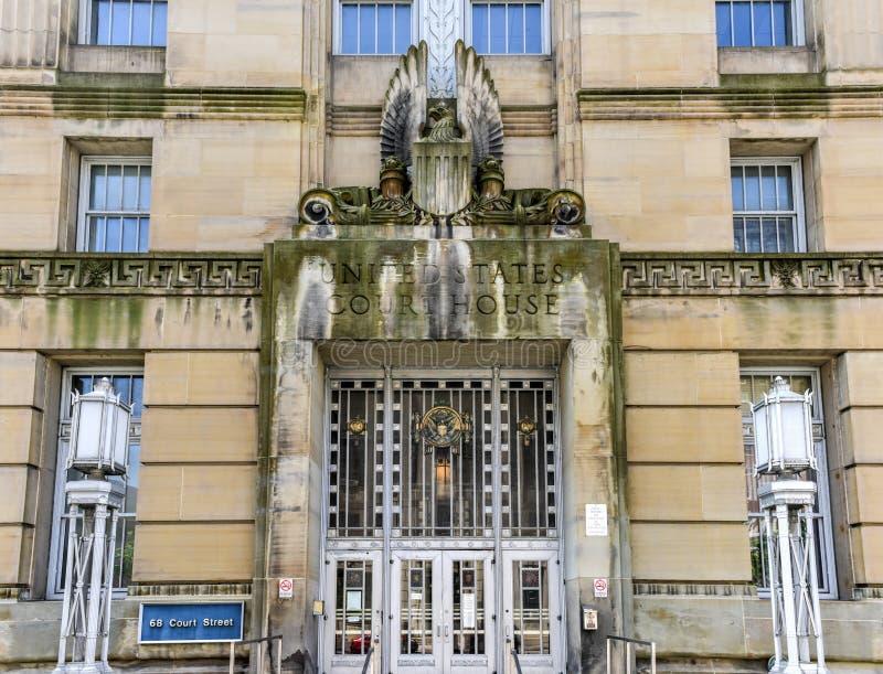 O tribunal do Estados Unidos - búfalo, New York foto de stock royalty free