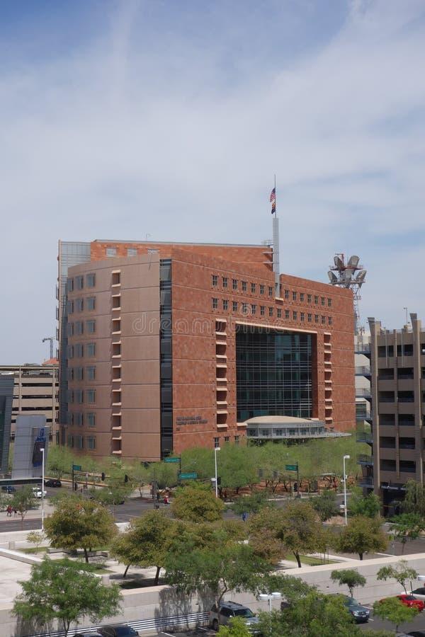 O tribunal municipal de Phoenix, AZ imagens de stock royalty free