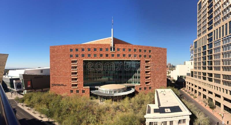 O tribunal municipal de Phoenix, AZ imagem de stock