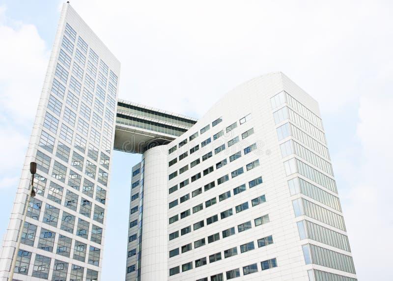 O Tribunal Penal Internacional, Haia Foto de Stock