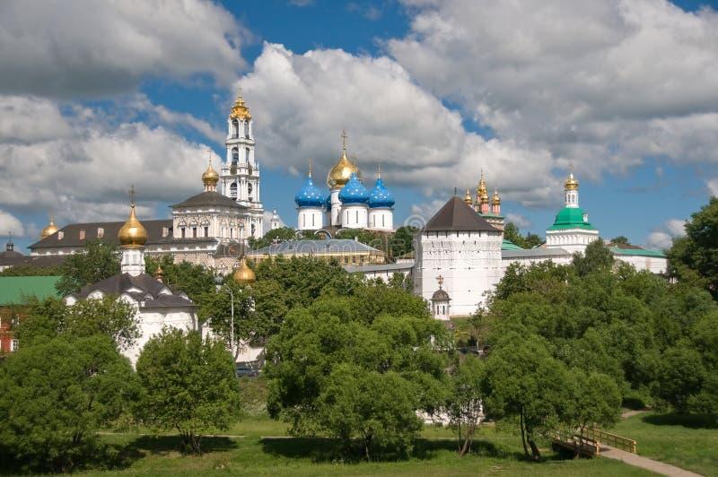 O Trindade-St santamente. Sergius Lavra. foto de stock royalty free