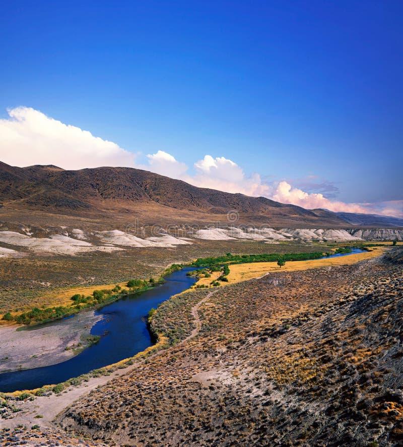 O Truckee River fotos de stock royalty free
