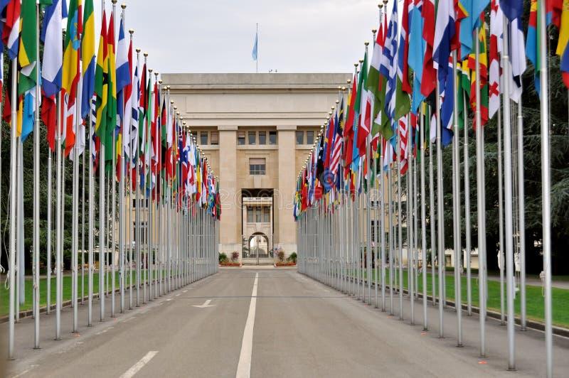 O UN, Genebra, Switzerland foto de stock royalty free