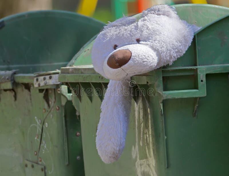 O urso jogado triste imagem de stock royalty free