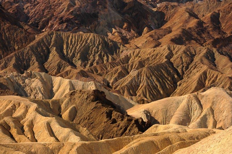 O Vale da Morte Califórnia imagens de stock royalty free