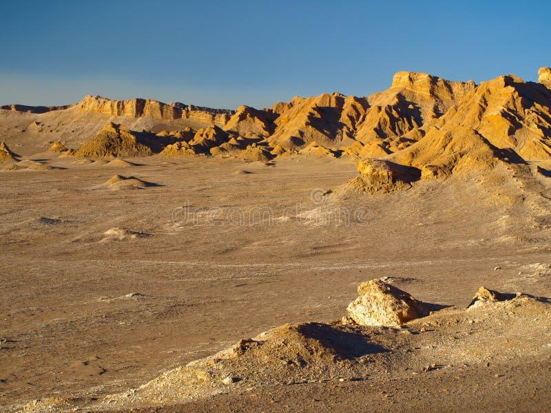 O Vale da Morte perto de San Pedro de Atacama imagem de stock