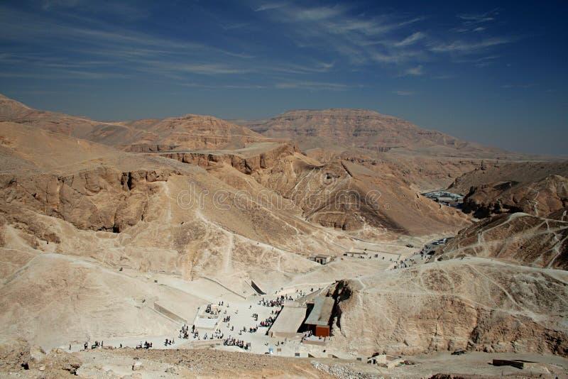 O vale dos reis em Egipto imagem de stock royalty free