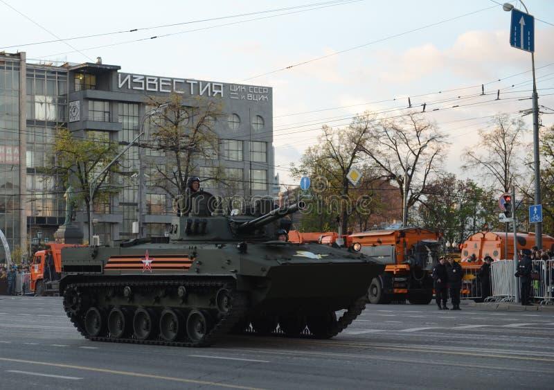 """O veículo combate do †BMD-4 de"""" do transportado por via aérea é uma viatura de combate anfíbia da infantaria (IFV) imagens de stock royalty free"""