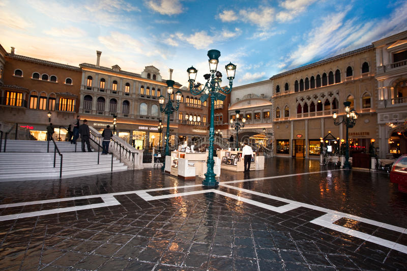 O Venetian fotografia de stock