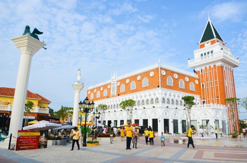O Venezia Hua Hin, Tailândia foto de stock royalty free