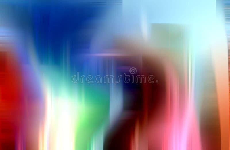 O verde cor-de-rosa branco alaranjado azul efervescente protege o fundo, cores, gráficos abstratos das máscaras Fundo e textura a imagem de stock royalty free