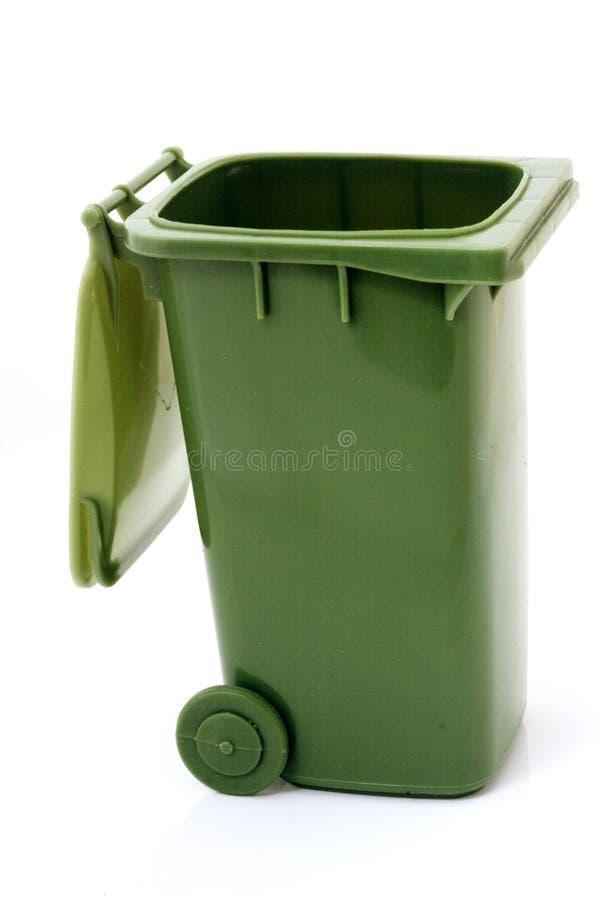 O verde recicl o escaninho fotos de stock royalty free