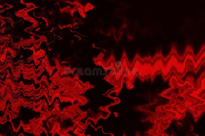 O vermelho abstrato matiza o fundo com textura do grunge imagens de stock royalty free