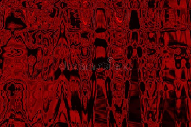 O vermelho colorido matiza o fundo abstrato fotografia de stock