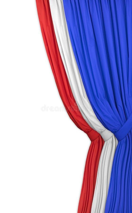 O vermelho, o branco e o azul! imagem de stock royalty free