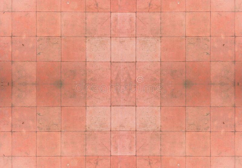 O vermelho sem emenda telha o fundo fotografia de stock