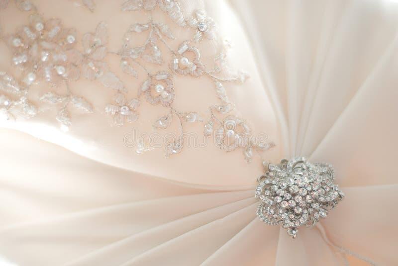 O vestido de casamento foto de stock royalty free
