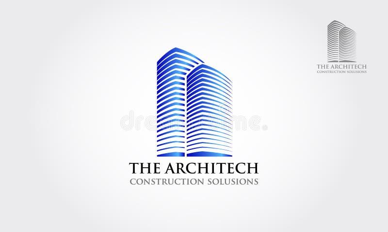 O vetor Logo Illustration de Architecth ilustração stock