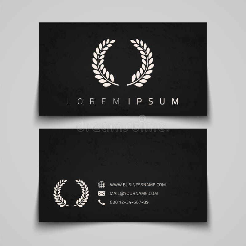 O vetor original apronta-se para as melhores cópias Logotipo do conceito do louro ilustração do vetor
