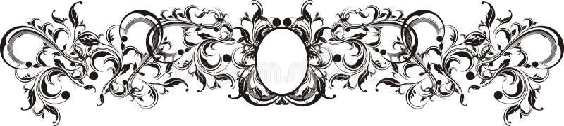 O vetor ornaments o frame ilustração stock