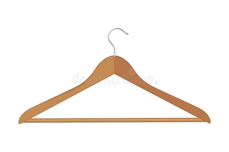 O vetor veste o gancho hooden o boutique acessório vazio isolado do objeto da forma ilustração royalty free