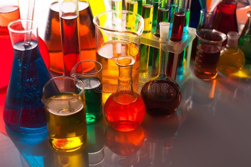 O vidro do laboratório fotos de stock royalty free