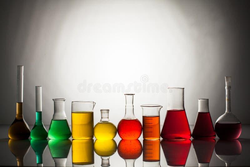 O vidro do laboratório fotografia de stock royalty free