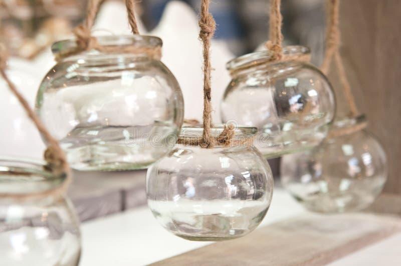 O vidro range a decoração home imagem de stock royalty free