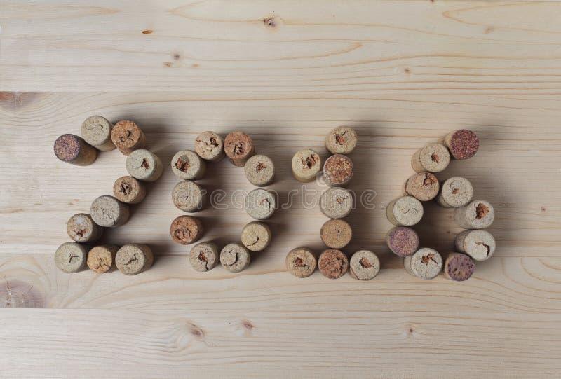 O vinho arrolha o close up 2016 imagem de stock