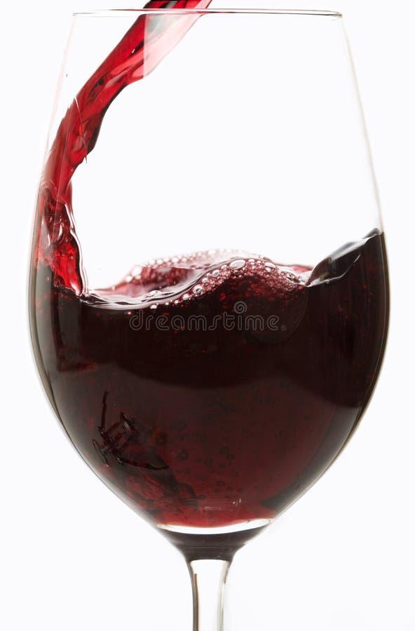 O vinho derrama imagens de stock royalty free
