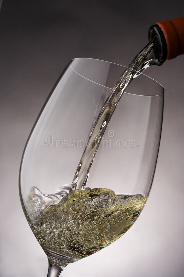 O Vino derrama imagem de stock