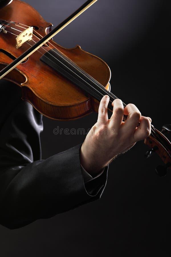 O violinista fotos de stock royalty free