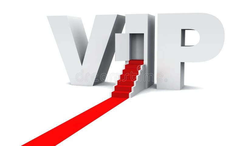 O VIP é a boa vinda 02 ilustração stock