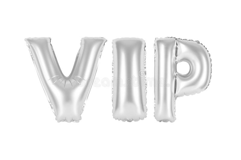 O VIP, pessoa muito importante, croma a cor cinzenta imagem de stock