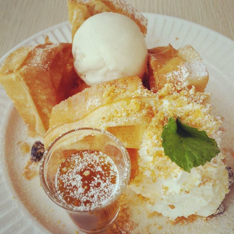 o waffle imagens de stock