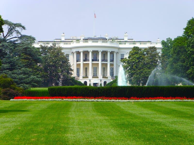 O Washington DC branco da casa. foto de stock royalty free