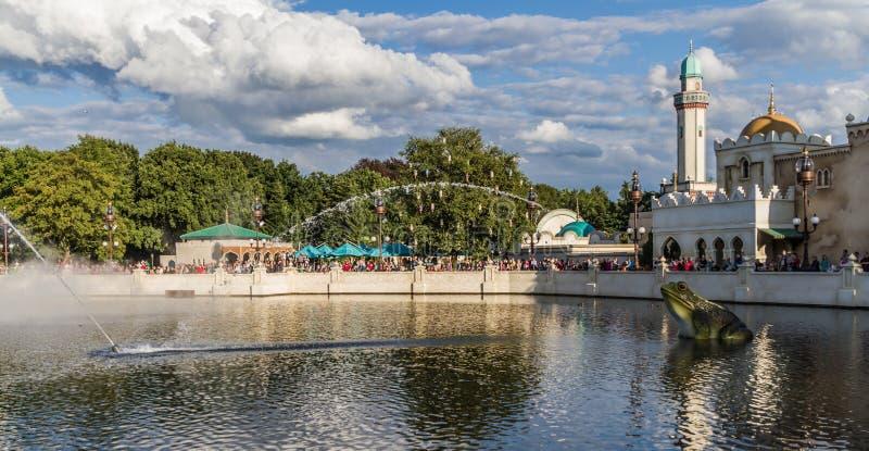 O watershow de Efteling - de Aquanura foto de stock royalty free