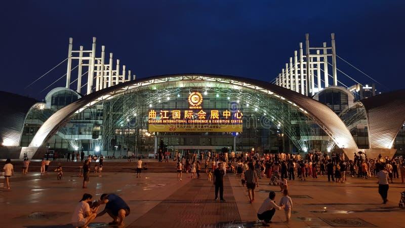 O WCG 2019 de jogos de Cyber de mundo do jogo olímpico do jogo do eSport o evento 'Xi 'no, China fotografia de stock royalty free