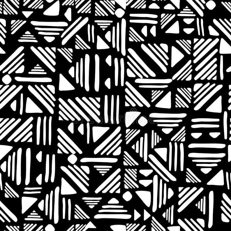 O Weave alinha o ornamento ilustração royalty free